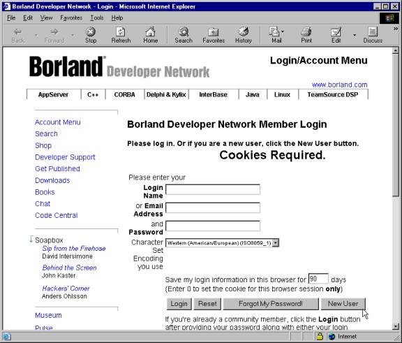 Download and Install Borland's C++ Compiler